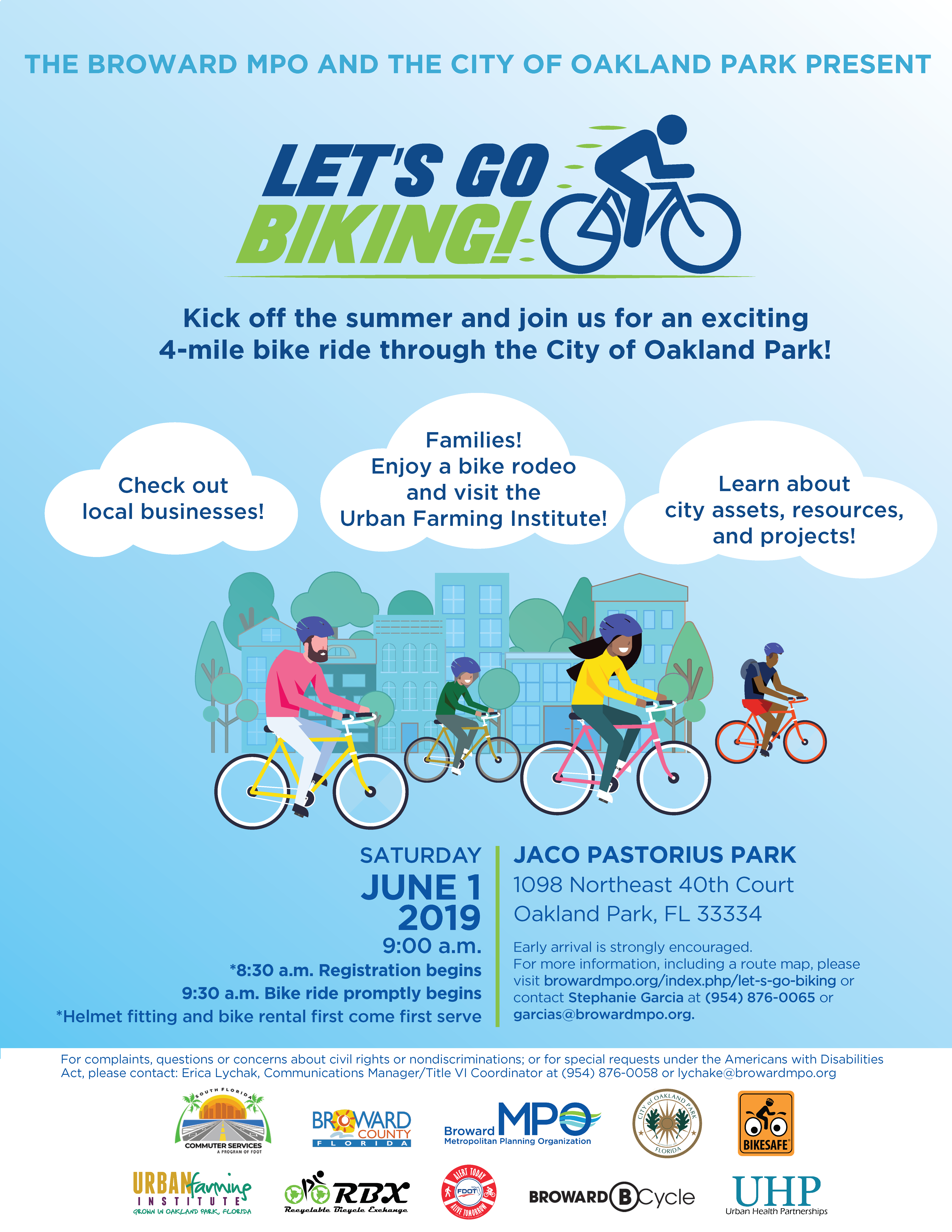 Lets go biking flyer 2019