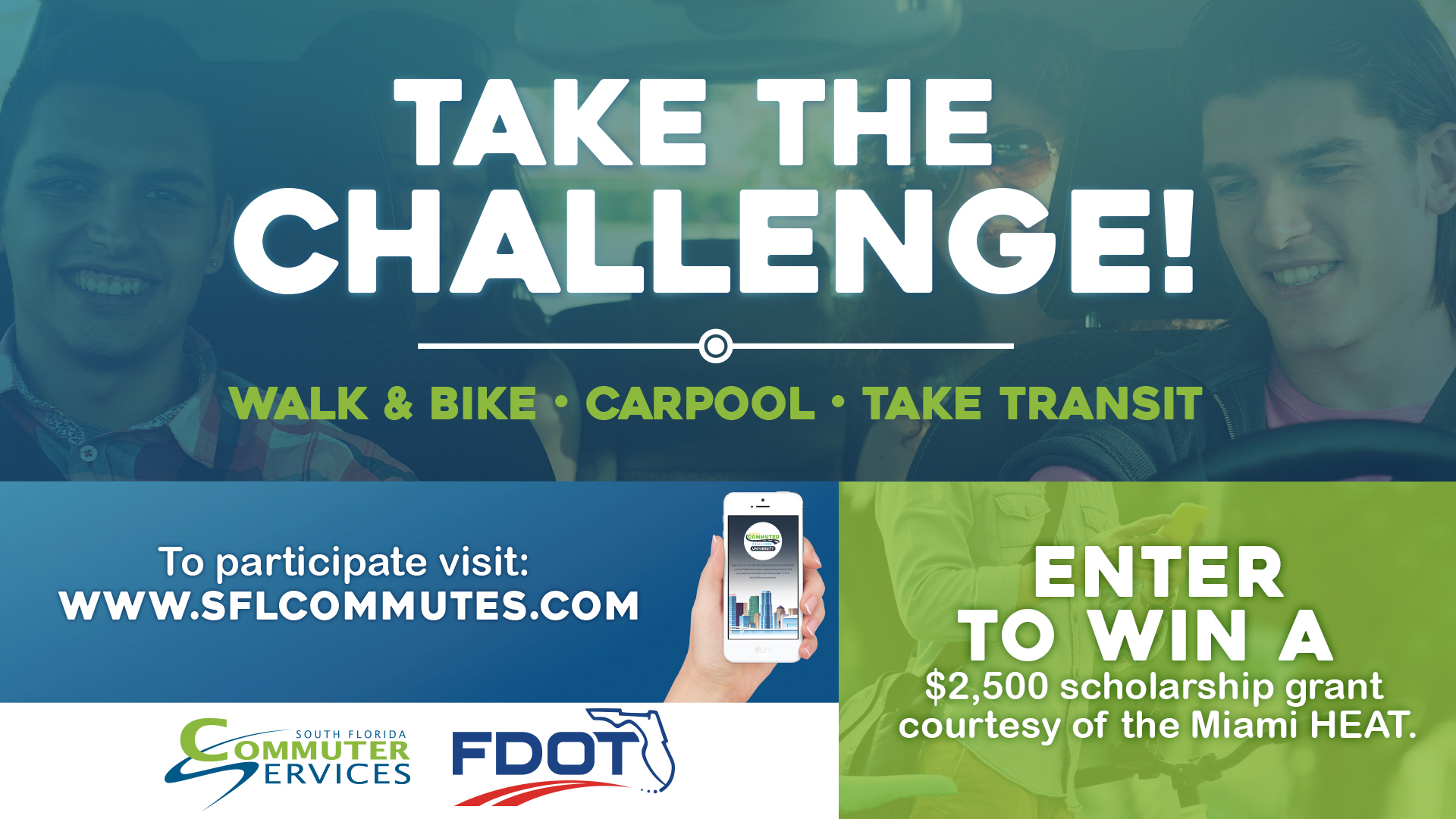 College Student? Participate in the University Commuter Challenge