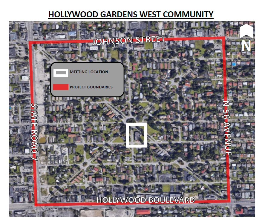 Sidewalk Improvements in Hollywood Gardens West