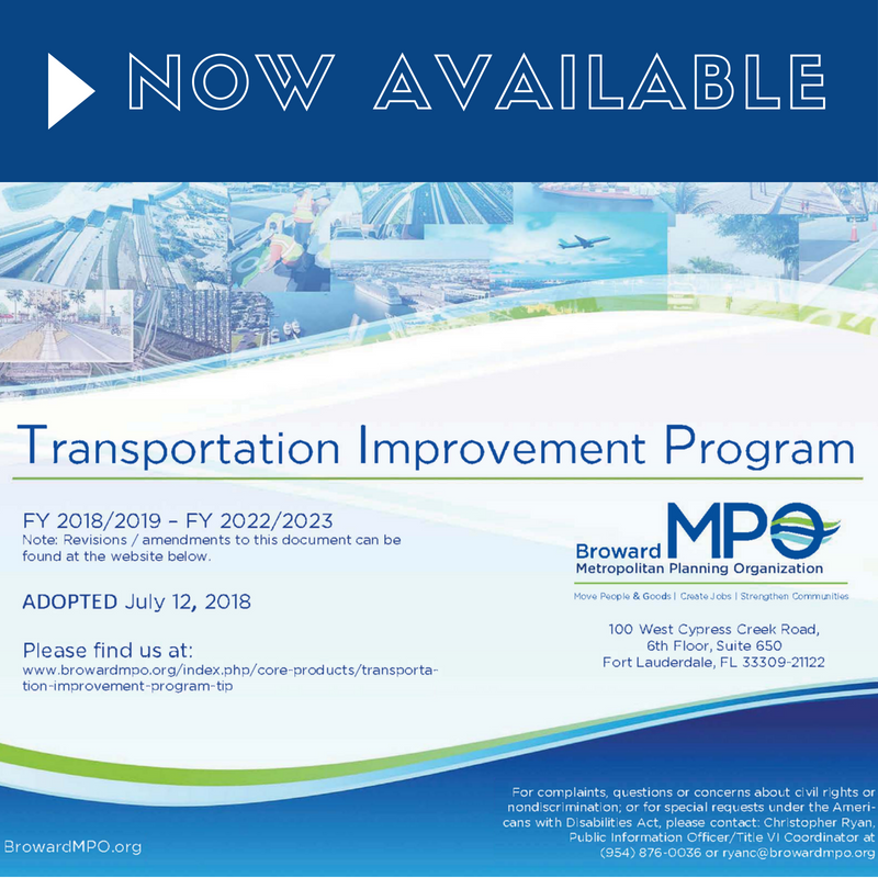 MPO Board Approves the Transportation Improvement Program