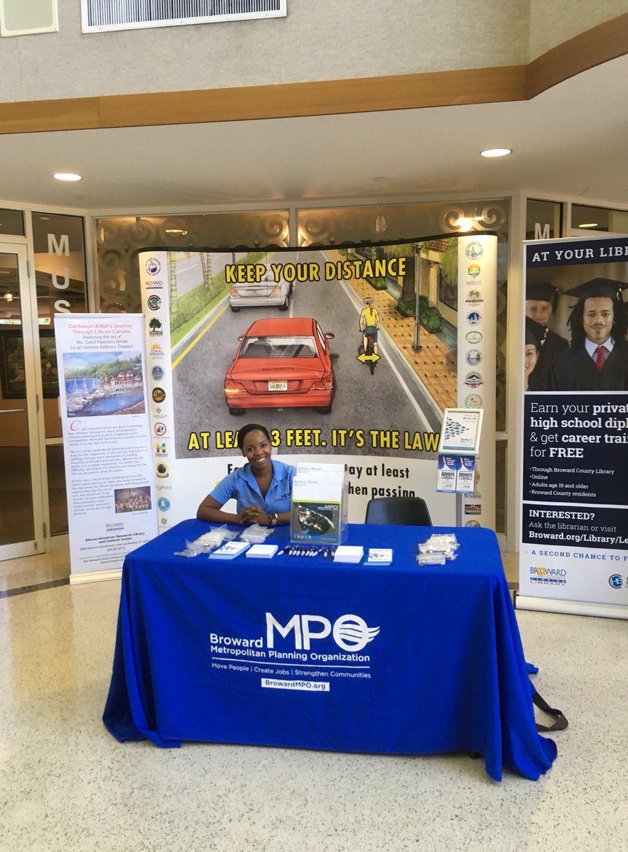 MPO Booth on Tour- Summer 2016