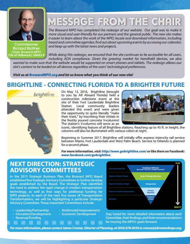 Summer 2016 Newsletter Now Available