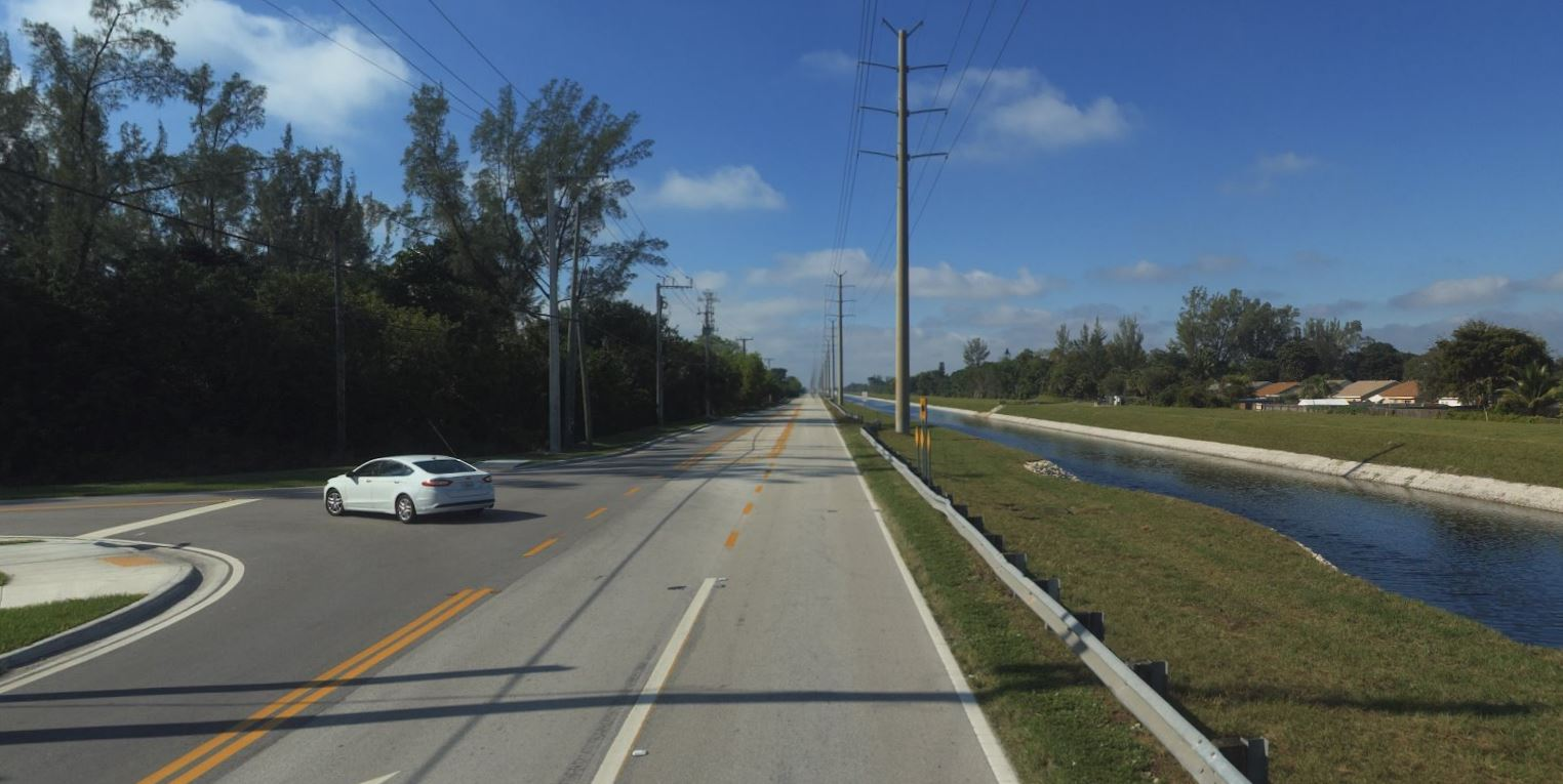 loxahatchee road existing conditions